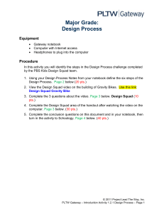 Design Process Major Grade (1)