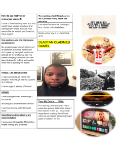 English 3 One pager about me-1