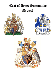 Coat of Arms Summative Project