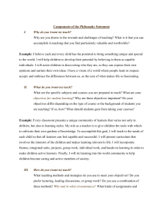 ec 250 guidelines philosophy-statement