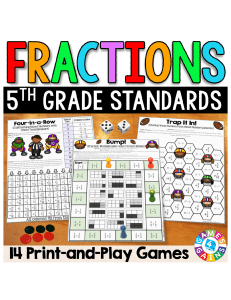 5thGradeFractionGamesAddingFractionsMultiplyingFractionsMore