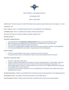 exam 1 study guide Fall 2020 A