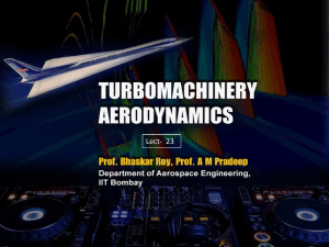Turbomachinery Aerodynamics