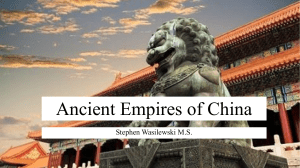 Ancient Empires of China