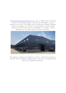 TAIZHOU GUOGUANG BUILDING MATERIALS