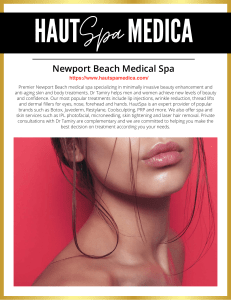 HautSpa Medica: Newport Beach Medical Spa