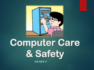 New Computer Care & Safety 2020