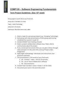 TermProject Guidelines-comp120 -updated