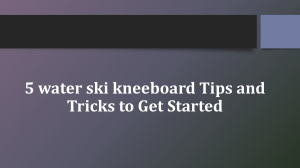 5 water ski kneeboard Tips and Tricks to Get Started