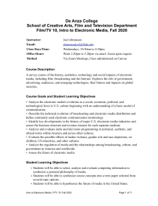 F TV10 Syllabus 200914