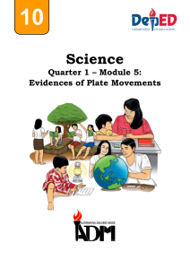 science10 q1 mod5 evidences-of-plate-movements FINAL08082020