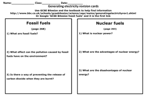 AQA-P1-4-Energy revision-sheet