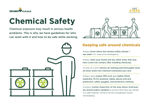 Safety Pause – Chemical Safety