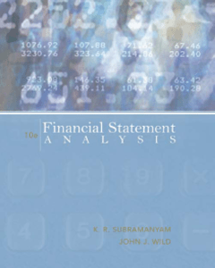 Chapter 1-3 Financial Statement Analysis -by-john-j-wild-10th-edition