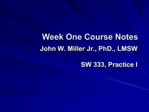 Week One and Two Course Notes (1)