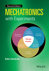 MECHATRONICS with Experiments 1118802462