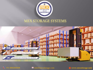 Industrial Racking System Manufacturers
