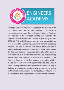 GATE coaching in Jaipur