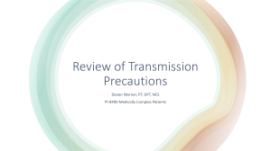 Transmission Precautions Review