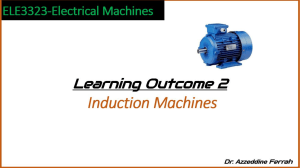 electrical machines LO2