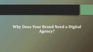 Why Does Your Brand Need a Digital Agency