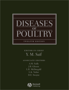 Diseases of Poultry, Saif pdf