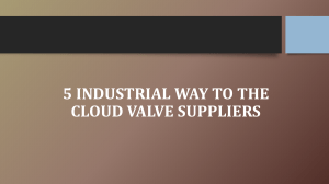 5 Industrial Way to the Cloud Valve Suppliers