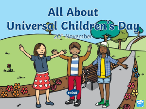 UniversalChildrensDay.ppt