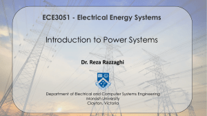 Lecture 1. Introduction to Power Systems
