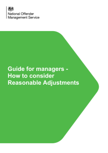 m18 how to consider reasonable adjustments