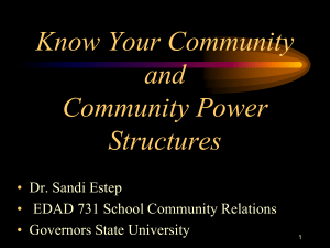 3 power structures