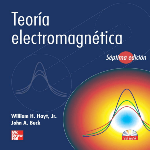 TEORIA ELECTROMAGNETICA William H. Hayt