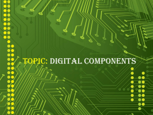 Introduction to Digital Components