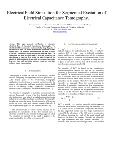 Din, Rahim, Ling - Unknown - Electrical Field Simulation for Segmented Excitation of Electrical Capacitance Tomography