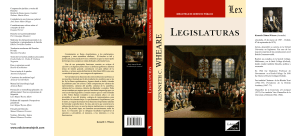 1083. KENNETH C. WHEARE. LEGISLATURAS. EDICIONES OLEJNIK