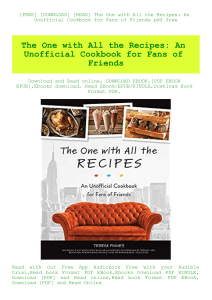 Cooking for friends pdf free download for windows 7