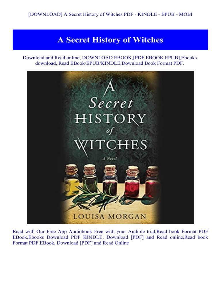 The Hidden Witch PDF Free Download